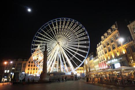 Grande roue, marché, crèche : ce mercredi, à Lille, c'est déjà Noël - La Voix du Nord   Vive Noël !   Scoop.it