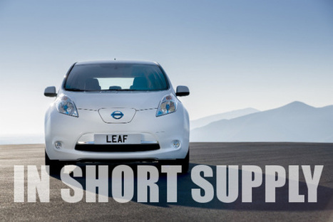 Nissan Leaf & Chevy Volt Both Break Their US Monthly Sales Records | Sustain Our Earth | Scoop.it