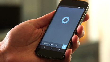 """Cortana pour Android : Microsoft rajoute l'activation vocale (""""Hey Cortana"""")   kamusa   Scoop.it"""
