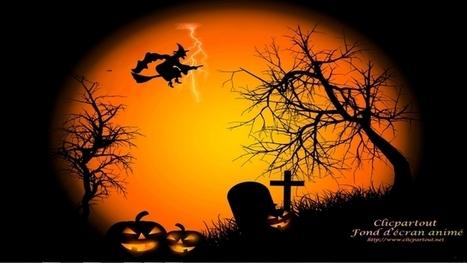 Fond écran animé Halloween - Clicpartout Fond d'écran animé | Fond écran animé Halloween | Scoop.it