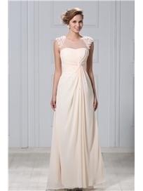 $ 181.99 Gorgeous A-Line Floor-Length Appliques Veronika's Evening/Mother of Brides Dress | Fashion ladies | Scoop.it