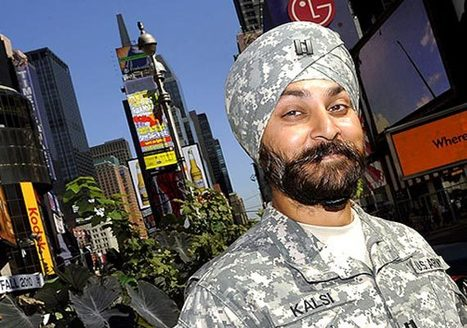 A Sikh American soldier's battle for the turban (Feature) - Politics Balla | You can...!! | Scoop.it