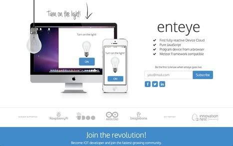 Enteye - Reactive Device Cloud | JavaScript for Line of Business Applications | Scoop.it