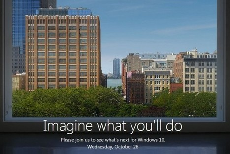 PC tout-en-un, Windows 10... ce que l'on peut attendre de la conférence Microsoft | Veille Informatique par ORSYS | Scoop.it