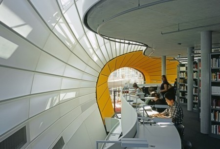 Free University's Philology Library / Foster + Partners | ArchDaily | Library Watch | Scoop.it