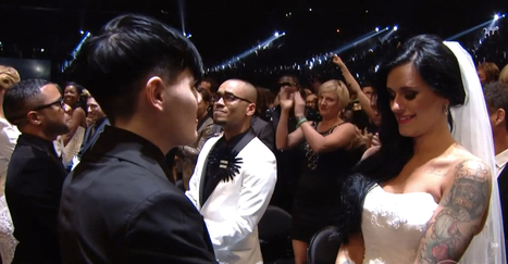 Watch 33 Gay And Straight Couples Get Married On The Grammys Without Hurting Anyone Else's Marriage | The Beauty of Difference | Scoop.it