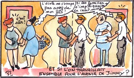 #EcoleFamille : Les relations école-famille du point de vue d'une assistante sociale | [in]Formation En Education | Scoop.it