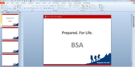 Boy Scouts have Their Own PowerPoint Template Designs   Educación   Scoop.it