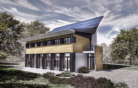 A Unique, Compact and Energy Positive Concept Home | sustainable architecture | Scoop.it