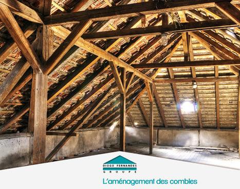 Comment aménager les combles de votre maison ? | Construction - Rénovation | Kasavox » 1er réseau social de l'Habitat | Scoop.it