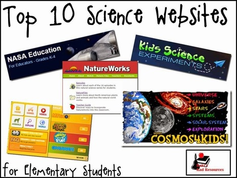 Raki's Rad Resources: Top 10 Science Websites for the Elementary Classroom | library | Scoop.it