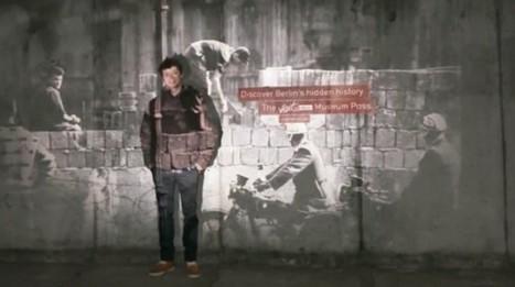 Sur les vestiges du mur de Berlin, des photos de touristes révèlent des archives invisibles à l'oeil nu   Culture augmentée - Augmented culture   Scoop.it