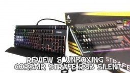 Review & Unboxing CLAVIER CORSAIR STRAFE RGB SILENT | PgunMan | Monhardware.fr | Scoop.it