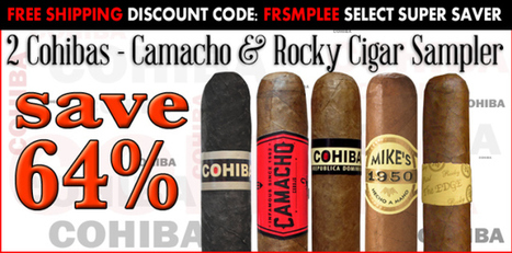2 Cohibas Camacho and Rocky Patel Cigar Sampler - Mike's Cigars BlogMike's Cigars Blog   Tobacco Products   Scoop.it