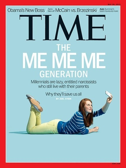 Why Time Magazine Put A Woman On The Cover Of Its Issue Complaining About Millennials | Collaborative Consultation | Scoop.it