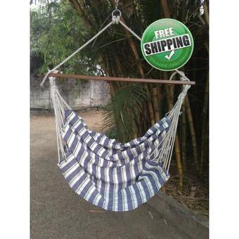 Peacock Striped Indoor Swing For Home with Free Delivery in India | Hammocks in India | Scoop.it