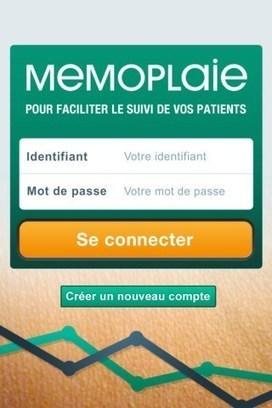 Memoplaie : application mobile pour le suivi des plaies aiguës ou chroniques   le monde de la e-santé   Scoop.it