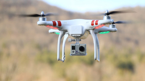 Drone : test du DJI Phantom - Focus Numérique | Drone & applications | Scoop.it
