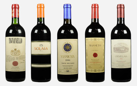 Super Tuscans: Five superstars that changed Italian #wine | Vitabella Wine Daily Gossip | Scoop.it