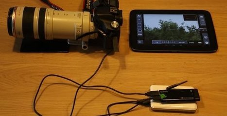 Control your DSLR Camera via Wi-Fi using an Android mini PC and a Tablet | Embedded Systems News | Scoop.it