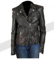Cheryl Cole Muubaa Black Leather Jacket | Designers Women Leather Jackets & Pants | Scoop.it