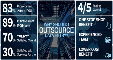 Why and where to outsource data entry services? | Data Entry and Data Processing Services in India | Scoop.it