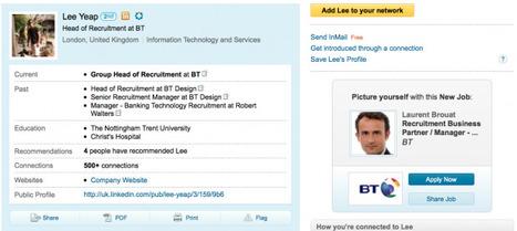 Recrutement Médias Sociaux | Un outil de recrutement 2.0 révolutionnaire? Linkedin met votre visage sur l'annonce | Recrutement et RH 2.0 | Scoop.it
