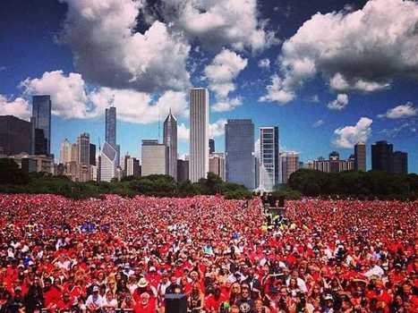 Chicago Blackhawks Rally And Parade Photos - Business Insider | Winning The Internet | Scoop.it