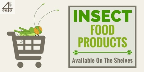Insect Food Products Currently Available - 4ento | Entomophagy: Edible Insects and the Future of Food | Scoop.it
