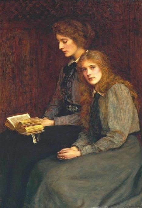 Painting -The Sisters, Ralph Peacock   Favorite Paintings digital   Scoop.it
