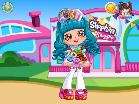 Shopkins Shoppies Donatina Game - Chip Games | ChipGames.net - Free Online Games | Scoop.it