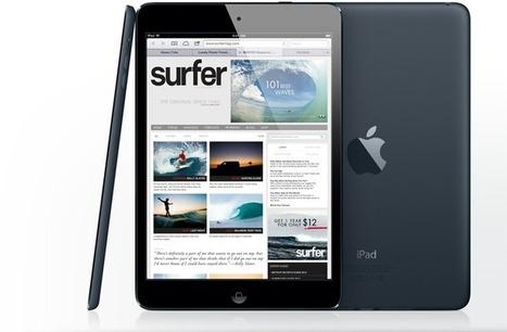L'iPad Mini représente 64% des ventes totales de tablettes iPad sur le dernier trimestre   Geeks   Scoop.it