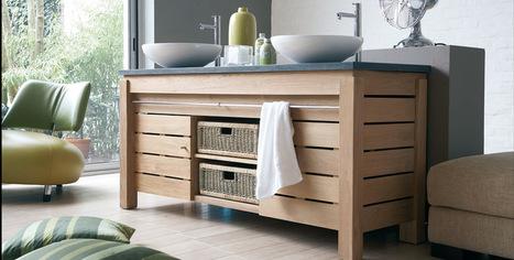 Comment huiler un meuble de salle de bains en teck ? | Espace Aubade | Scoop.it