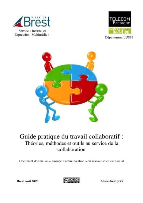 Guide pratique du travail collaboratif [Slidesh... | Outils numériques pour associations | Scoop.it