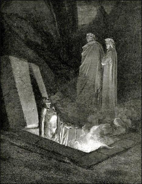 El aterrador Infierno de Dante y los condenados griegos | Autores y literatura en español | Scoop.it