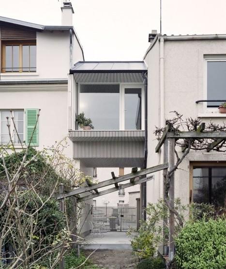 掛在半空的房間增建計畫 – NeM Architectes | KAIAK | 建築 | Scoop.it