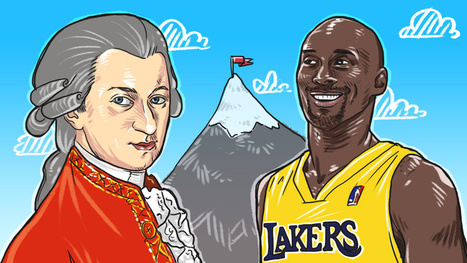 What Mozart and Kobe Bryant Can Teach Us About Deliberate Practice | Social Media Marketing | Scoop.it