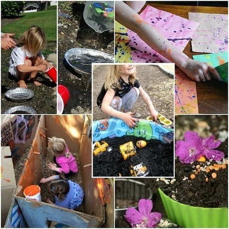 Huge List of Activities for Outdoor Sensory Fun - The Chaos and the Clutter | Sensory Activities | Scoop.it