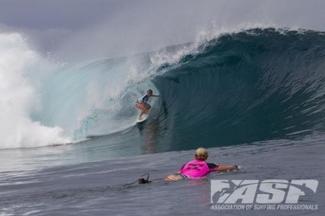 Adrian Buchan Wins Billabong Pro Tahiti, Slater Takes ASP WCT Lead   surfinfo   Scoop.it