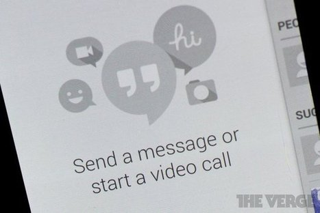 Google finally combines text and chat conversations in Hangouts | Educational Technology and New Pedagogies | Scoop.it