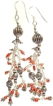Coral Sterling Silver Earrings | Handcrafted Sterling Silver Jewelry | Scoop.it