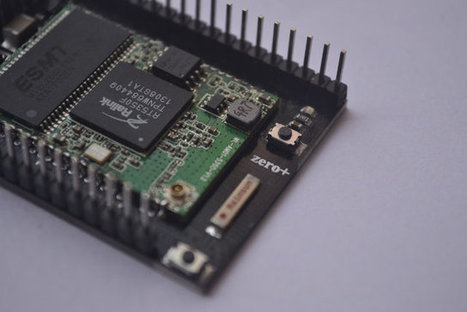 Zero+ IoT Wi-Fi Board is Programmable with Lisp (Crowdfunding) | Embedded Systems News | Scoop.it