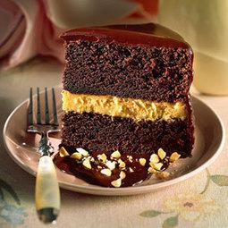Chocolate-Peanut Butter Mousse Cake | Ravish m.e. | Scoop.it