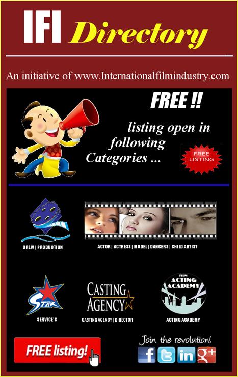 Create your free listing on IFI. | Filmi Gossip | Scoop.it