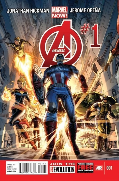 Hickman & Opena's 'Avengers' #1 Is Big, Cool, and Gorgeous [Spoiler-Free Review] | Comic Books | Scoop.it