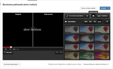 Nueva herramienta Slow Motion de Youtube: La probamos y te enseñamos a usarla | Educacion, ecologia y TIC | Scoop.it
