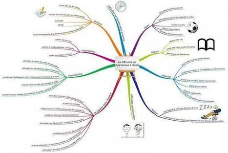 Dyspraxie : carte mentale de présentation | Classemapping | Scoop.it