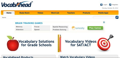 SAT Vocabulary Building for ACT SAT and GRE Preparation | L2 Vocabulary Teaching & Learning | Scoop.it