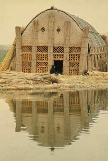 The Floating Basket Homes of Iraq: A Paradise almost Lost to Saddam | tecnext | Scoop.it