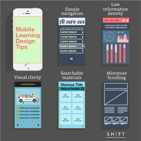 Creating Your First Mobile Learning Course? Here's Some Advice | Digital Learning, Technology, Education | Scoop.it